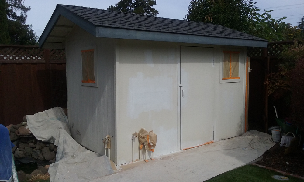 Before | Shed in Castro Valley,Ca