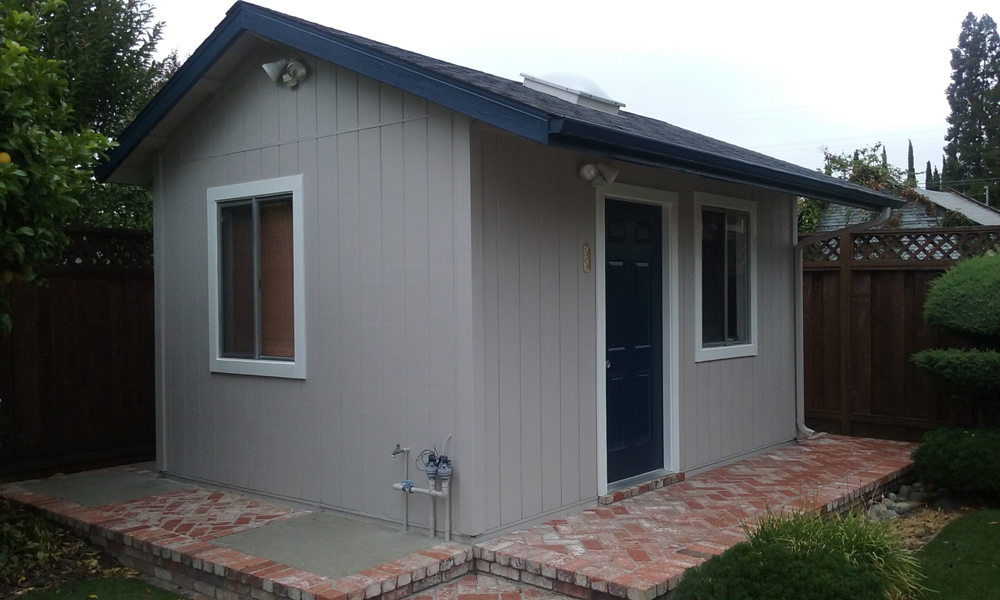 After | Shed in Castro Valley,Ca