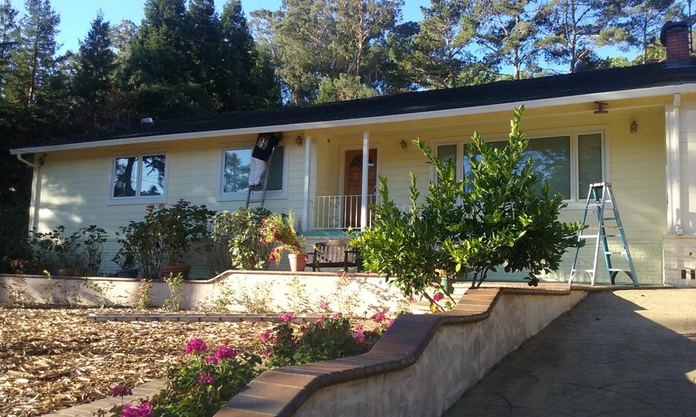 Before | Exterior Oakland Hills, Ca