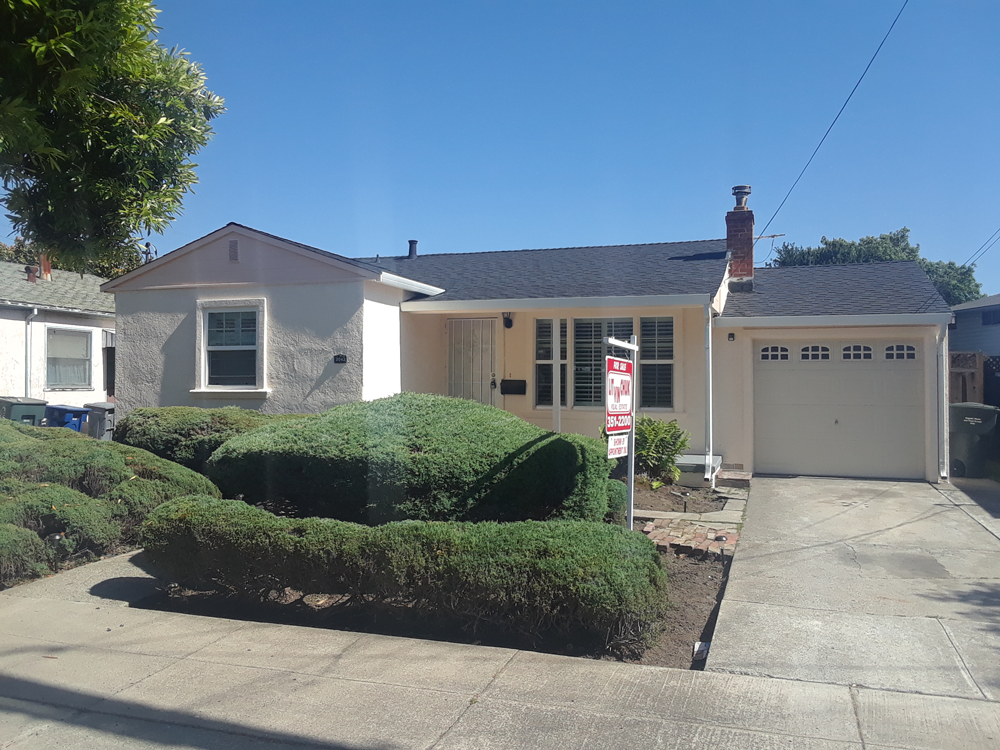 After | Exterior San Leandro, ca