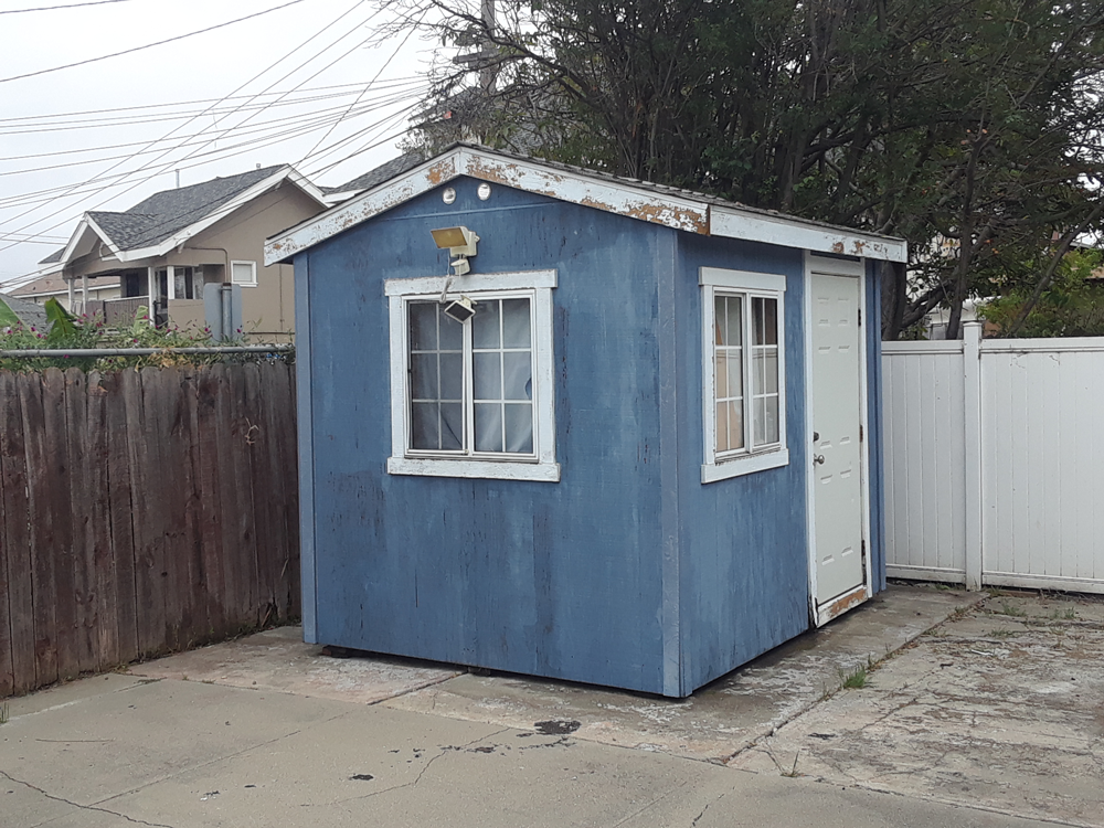 Before | Exterior Shed Oakland, Ca