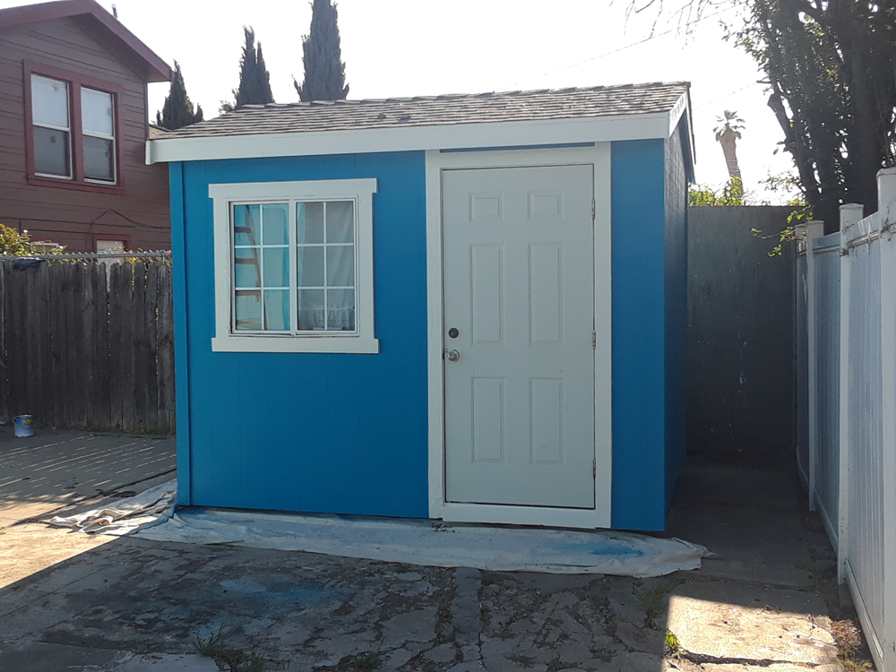 After | Exterior Shed Oakland, Ca