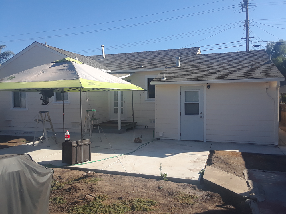 Painting in San Leandro, Ca