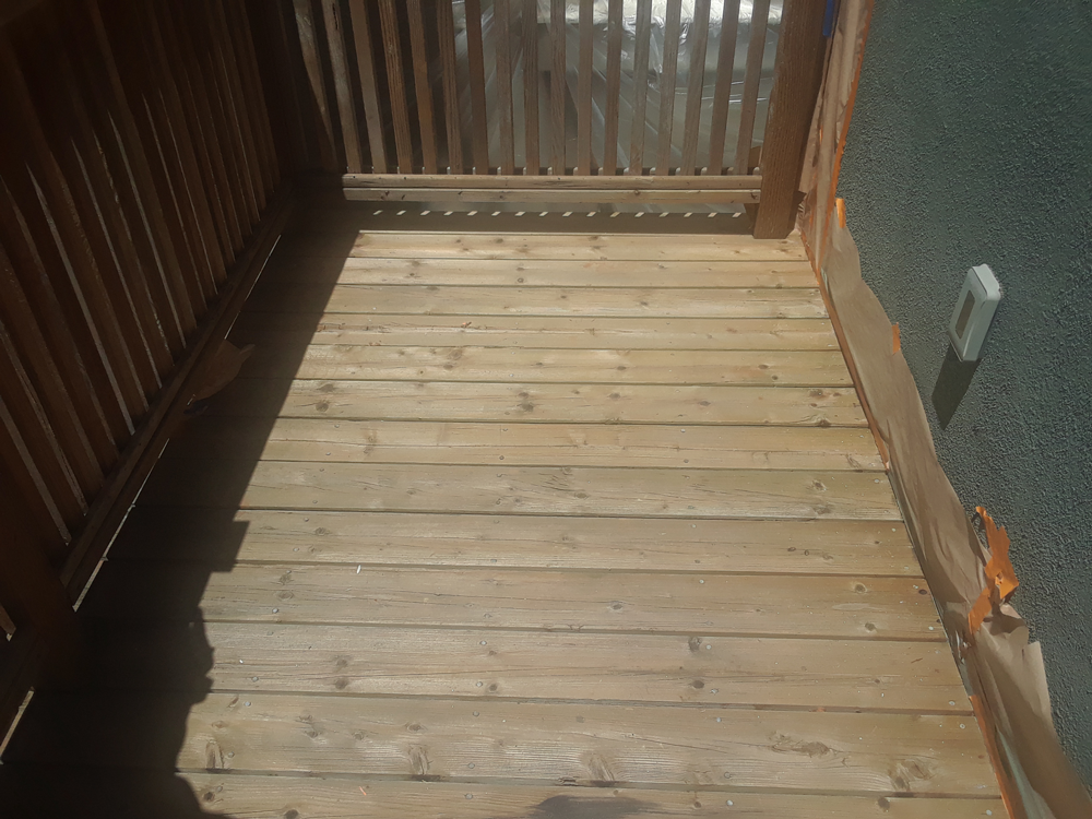 Before | Deck