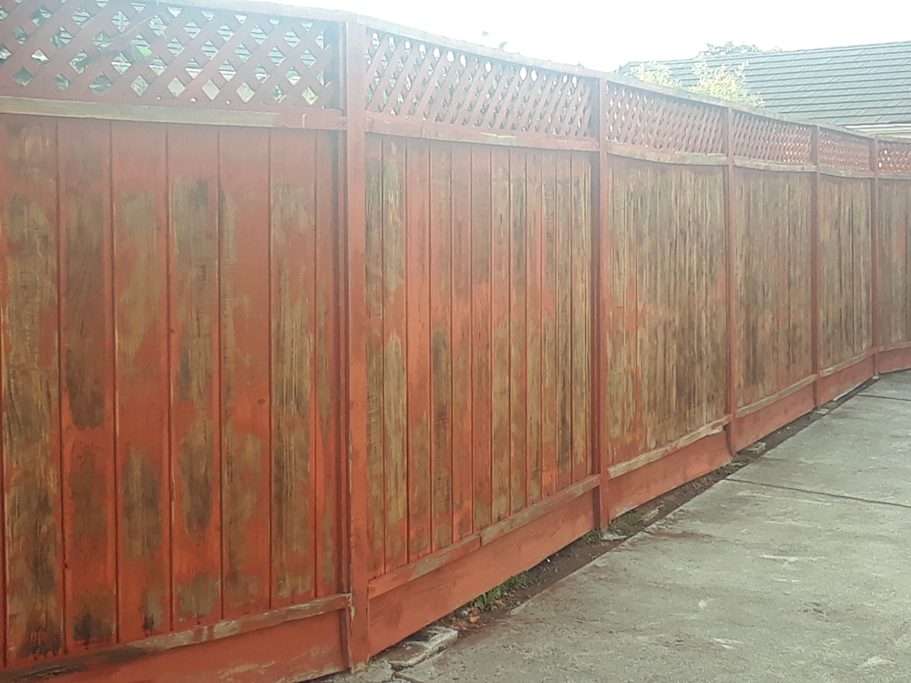 Before | Exterior Fence San Leandro, Ca