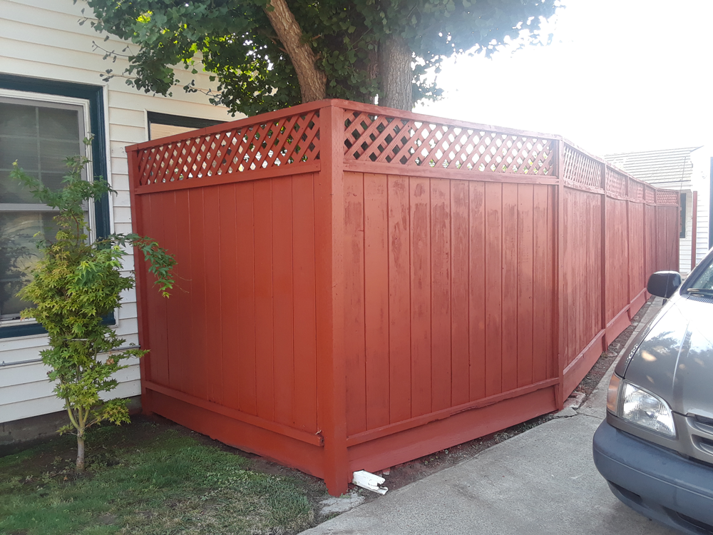 After | Exterior Fence San Leandro, Ca