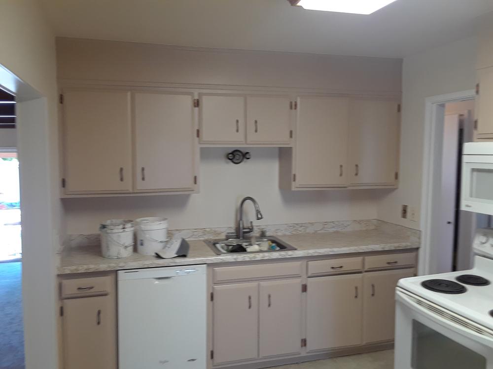 After | Interior kitchen Cabinets