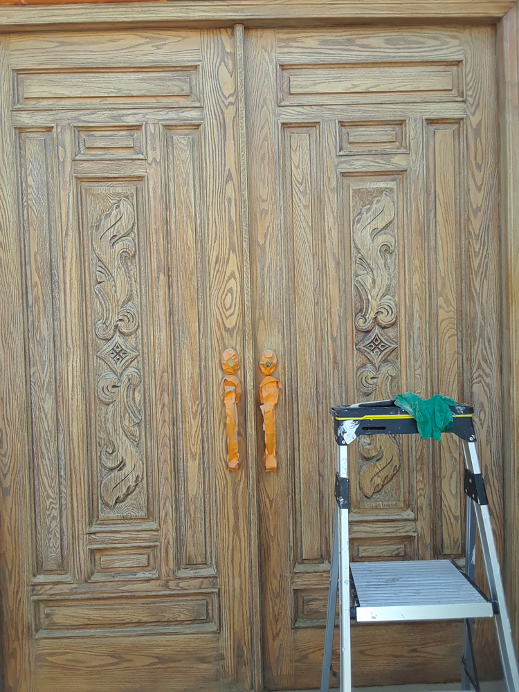 Before | Exterior Door