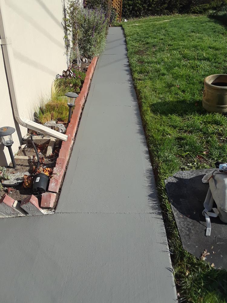 After | Exterior walkway.