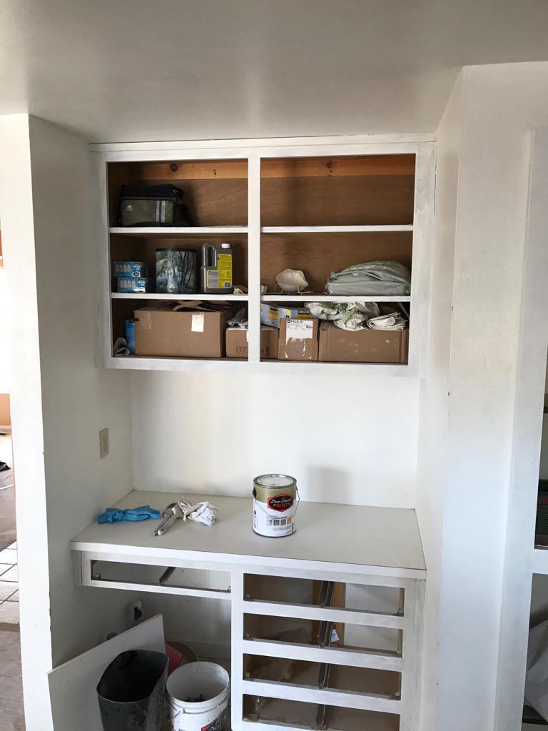 Before | Interior kitchen Cabinets